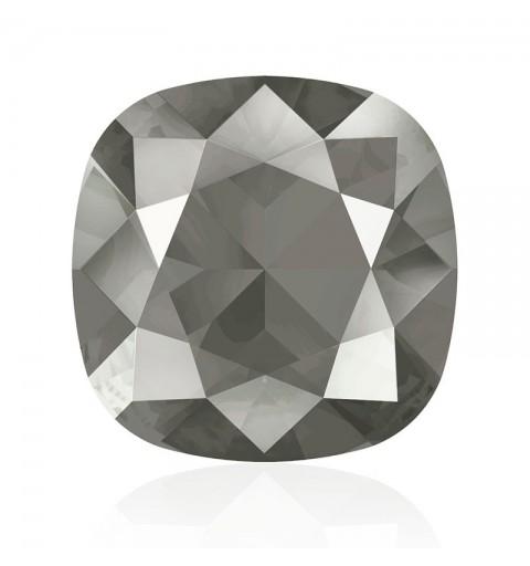 10mm Crystal Dark Grey (001 L111S) Cushion Square Fancy Stone 4470 Swarovski Elements
