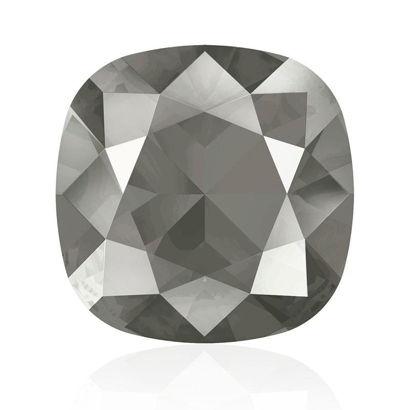 12mm Crystal Dark Grey (001 L111S) Padjakujuline Ruudune Ehte Kristall 4470 Swarovski Elements