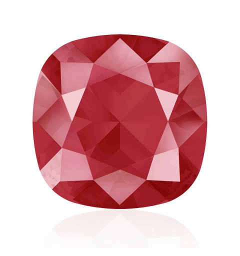 12mm Crystal Royal Red (001 L107S) Cushion Square Fancy Stone 4470 Swarovski Elements