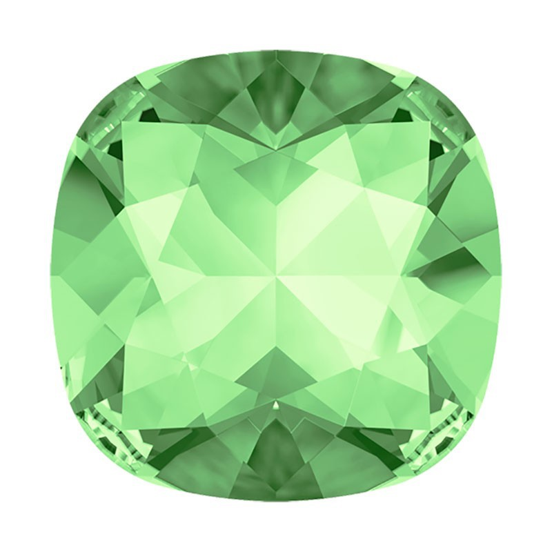 12mm 4470 Chrysolite F (238) Cushion Square Fancy Stone Swarovski Elements