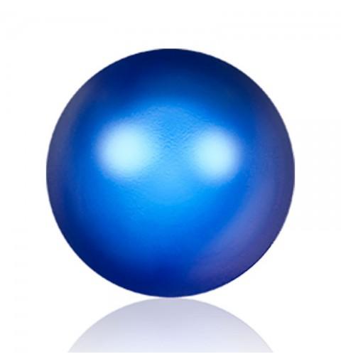 4MM Iridescent Dark Blue Kristall Ümmargune Pärl (001 949) 5810 SWAROVSKI ELEMENTS