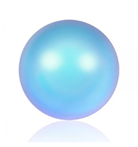 8MM Iridescent Light Blue Kristall Ümmargune Pärl (001 948) 5810 SWAROVSKI ELEMENTS