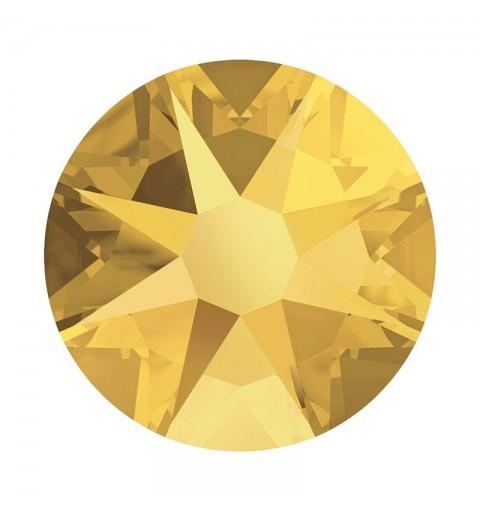 2088 SS20 Crystal Metallic Sunshine F (001 METSH) XIRIUS Rose SWAROVSKI ELEMENTS
