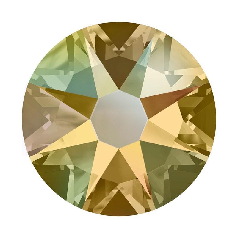 2088 SS20 Light Colorado Topaz Shimmer F (246 SHIM) XIRIUS Rose SWAROVSKI ELEMENTS