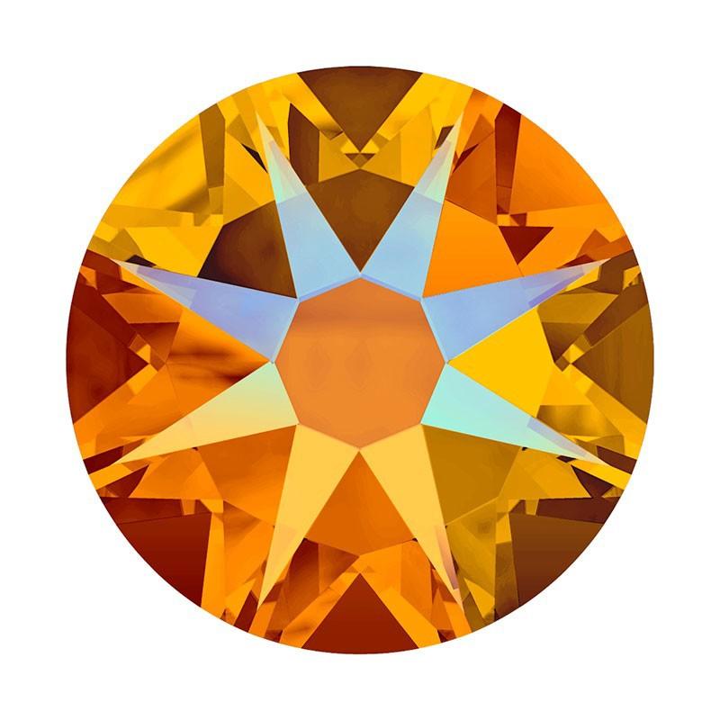 2088 SS20 Tangerine Shimmer F (259 SHIM) XIRIUS Rose SWAROVSKI ELEMENTS