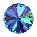 14MM Crystal Bermuda Blue F (001 BB) 1122 Rivoli SWAROVSKI ELEMENTS