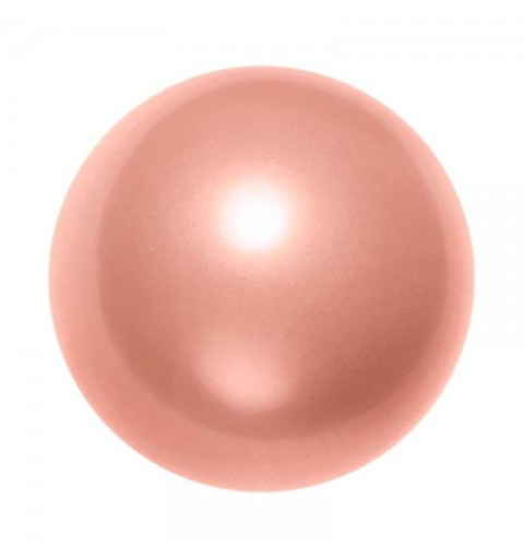 10MM Crystal Rose Peach Pearl (001 674) 5810 SWAROVSKI ELEMENTS