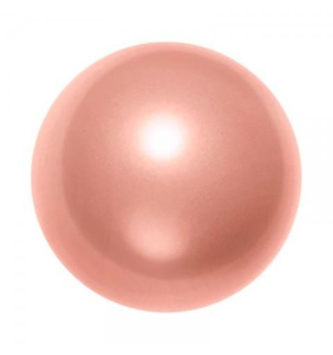 12MM Crystal Rose Peach Pearl (001 674) 5810 SWAROVSKI ELEMENTS
