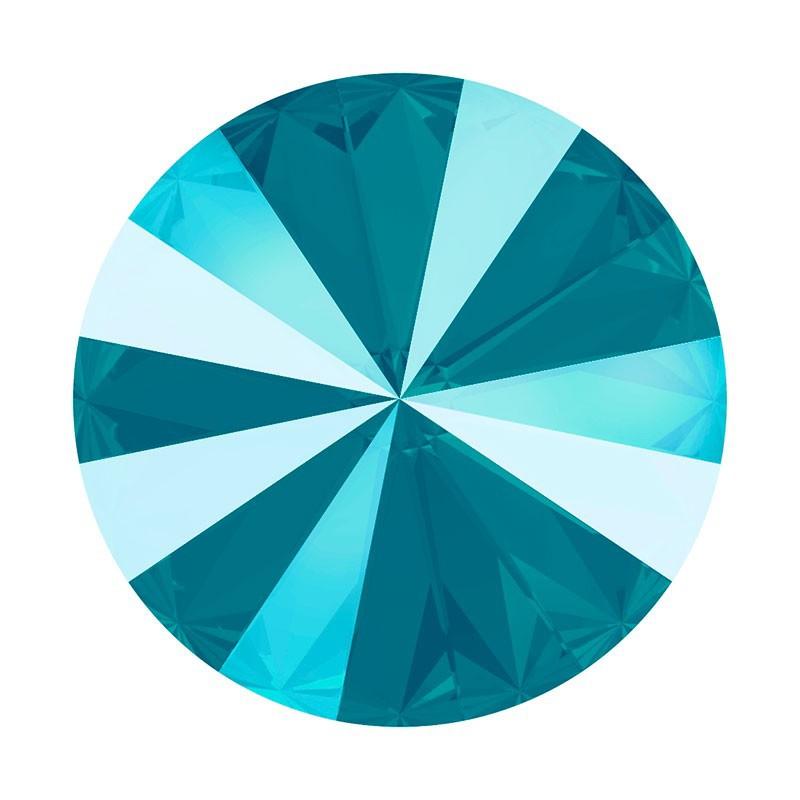 12MM Crystal Azure Blue (001 L112S) 1122 Rivoli SWAROVSKI ELEMENTS