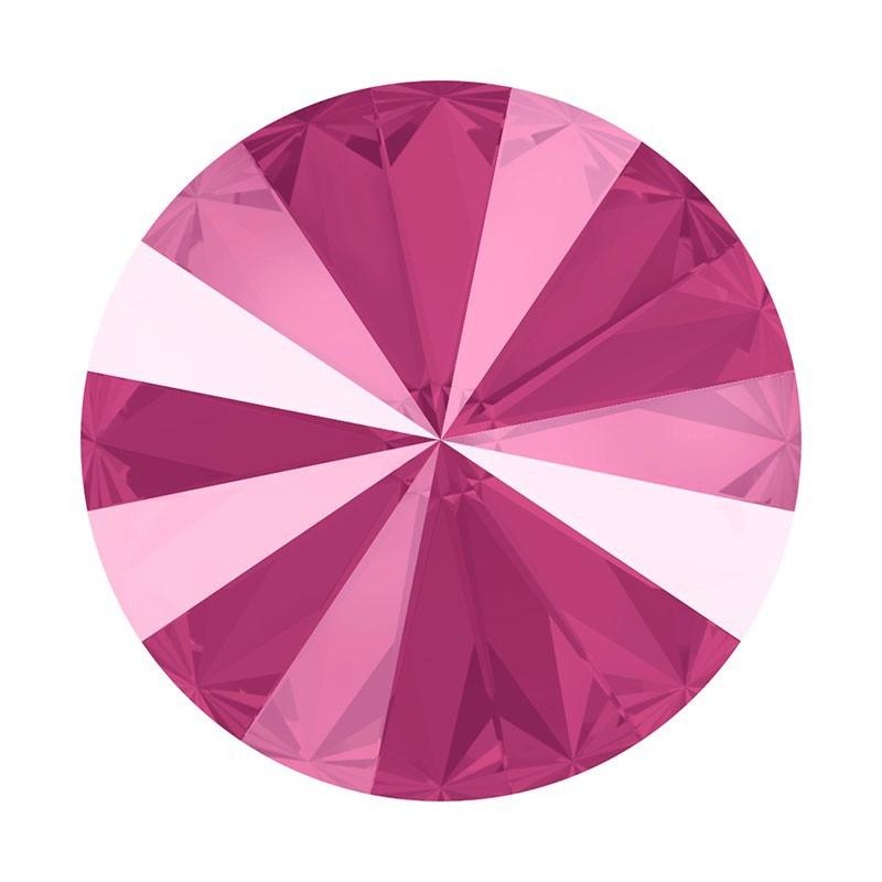 12MM Crystal Peony Pink (001 L113S) 1122 Rivoli SWAROVSKI ELEMENTS