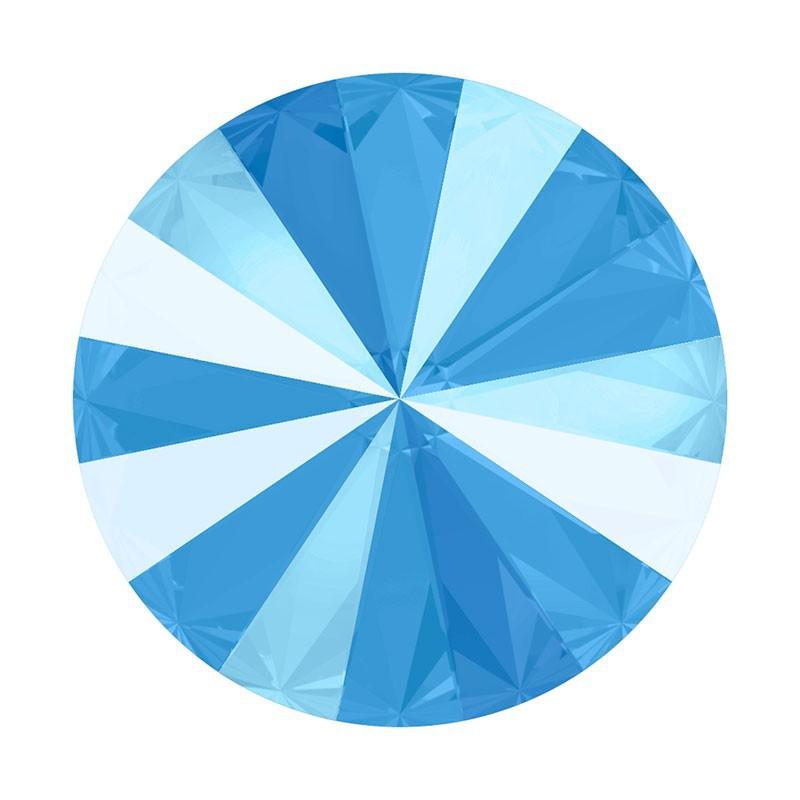 12MM Crystal Summer Blue (001 L114S) 1122 Rivoli SWAROVSKI ELEMENTS