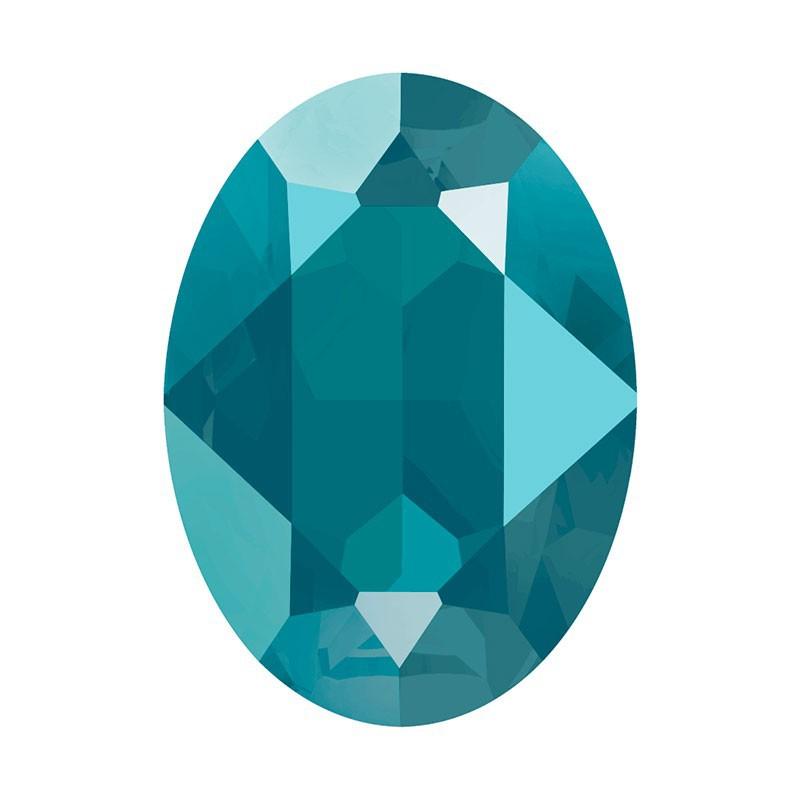 14x10mm Crystal Azure Blue (001 L112S) Oval Fancy Stone 4120 Swarovski Elements