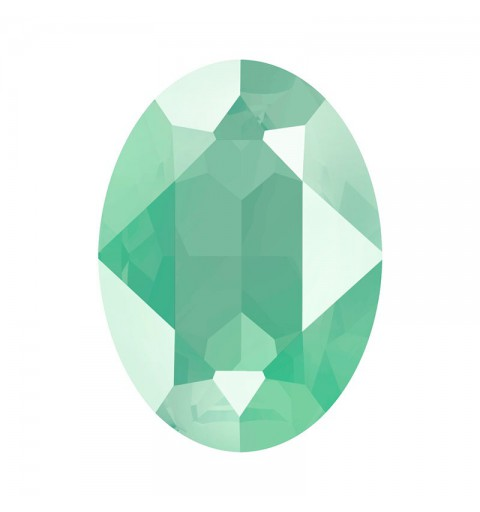 18x13mm Crystal Mint Green (001 L115S) Oval Ehete Kristall 4120 Swarovski Elements