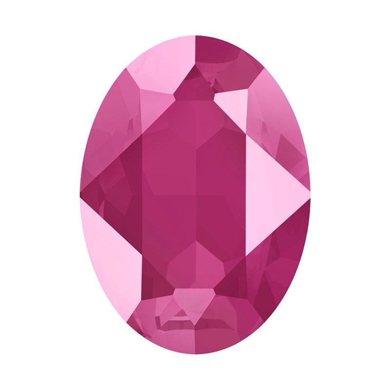 18x13mm Crystal Peony Pink (001 L113S) Овальный Кристалл для украшений 4120 Swarovski Elements