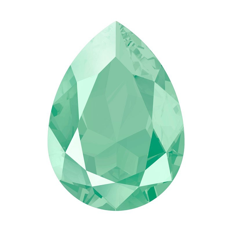 14x10mm Crystal Mint Green (001 L115S) Грушевидный Кристалл для украшений 4320 Swarovski Elements