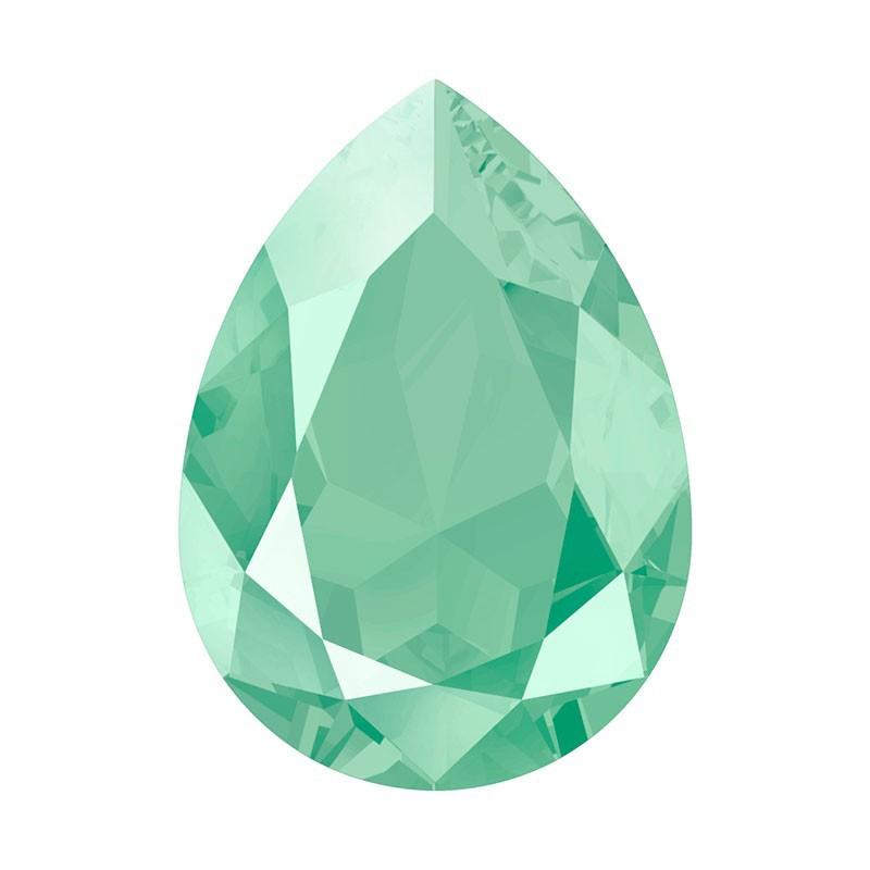 14x10mm Crystal Mint Green (001 L115S) Pear-Shaped Fancy Stone 4320 Swarovski Elements