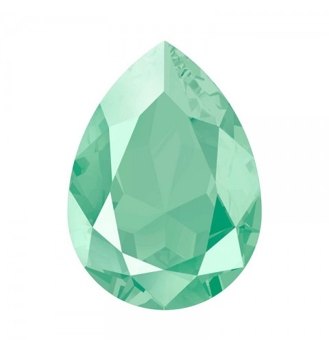 14x10mm Crystal Mint Green (001 L115S) Pear-Shaped Fancy Stone 4320 Swarovski Elements