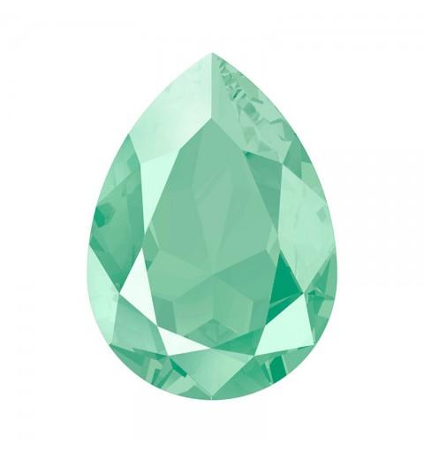 14x10mm Crystal Mint Green (001 L115S) Pirnikujuline Ehete Kristall 4320 Swarovski Elements