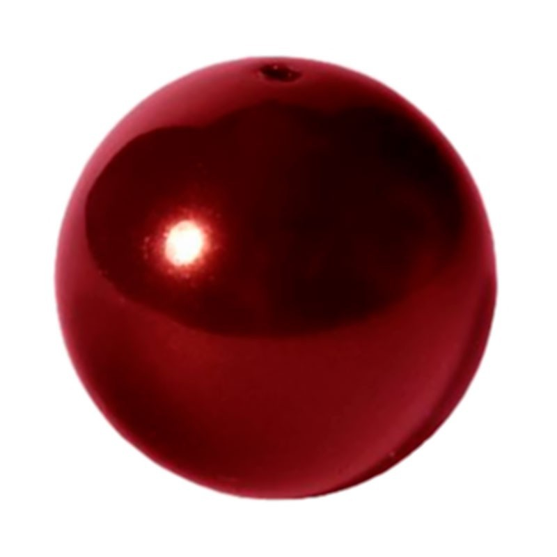 10MM Crystal Bordeaux Pearl (001 538) 5810 SWAROVSKI ELEMENTS