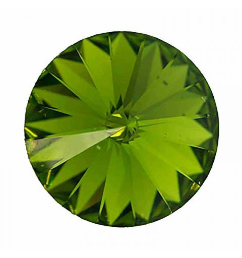 12MM Olivine F (228) 1122 Rivoli SWAROVSKI ELEMENTS