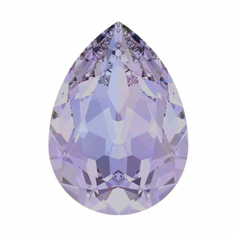 18x13mm Provence Lavender F (283) Pear-Shaped Fancy Stone 4320 Swarovski