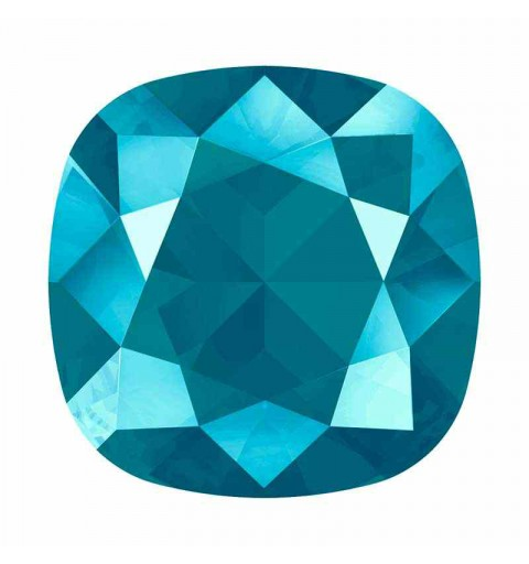 12mm 4470 Crystal Azure Blue (001 L112S) Cushion Square Fancy Stone Swarovski