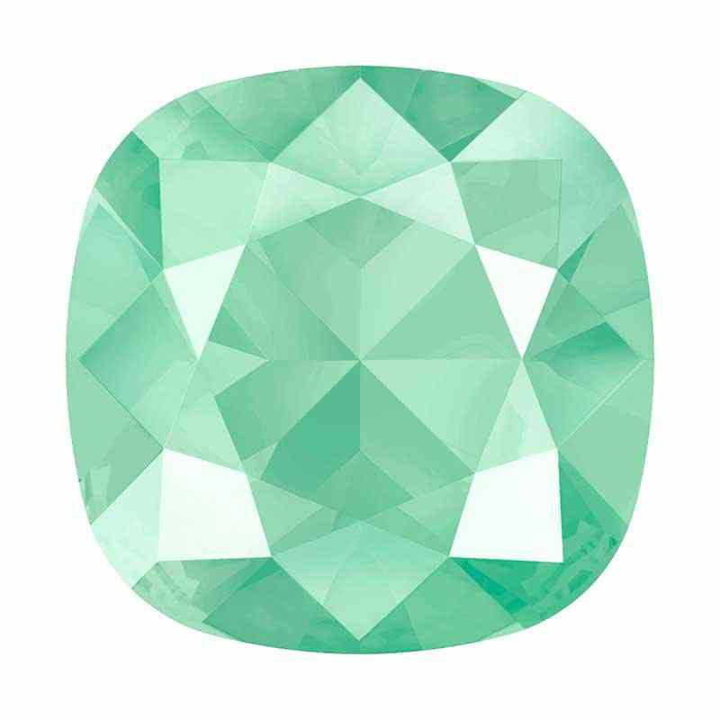 10mm 4470 Crystal Mint Green (001 L115S) Cushion Square Fancy Stone Swarovski