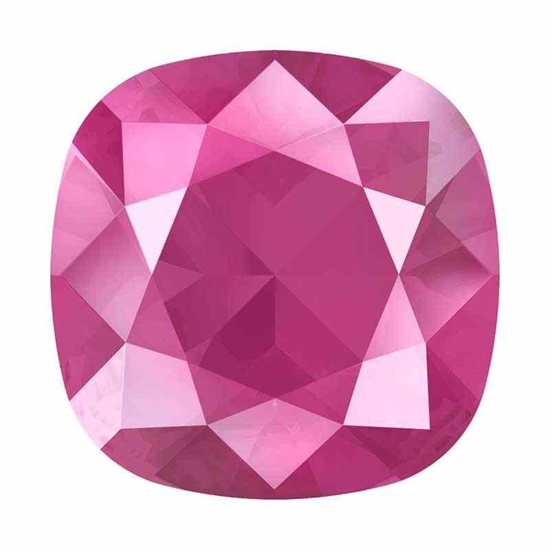 10mm 4470 Crystal Peony Pink (001 L113S) Padjakujuline Ruudune Ehte Kristall Swarovski