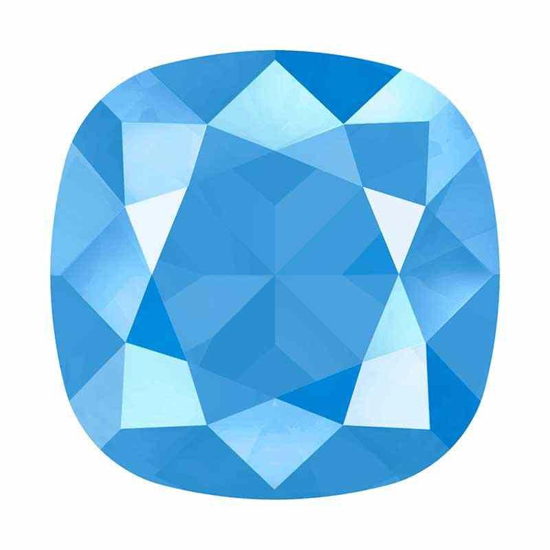 10mm 4470 Crystal Summer Blue (001 L114S) Подушкообразный Квадратный Кристалл для украшений Swarovski
