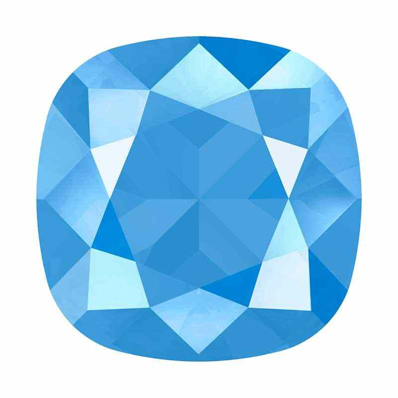 10mm 4470 Crystal Summer Blue (001 L114S) Cushion Square Fancy Stone Swarovski