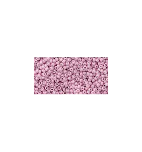 TR-15-127 Opaque-Lustered Pale Mauve TOHO Seed Beads