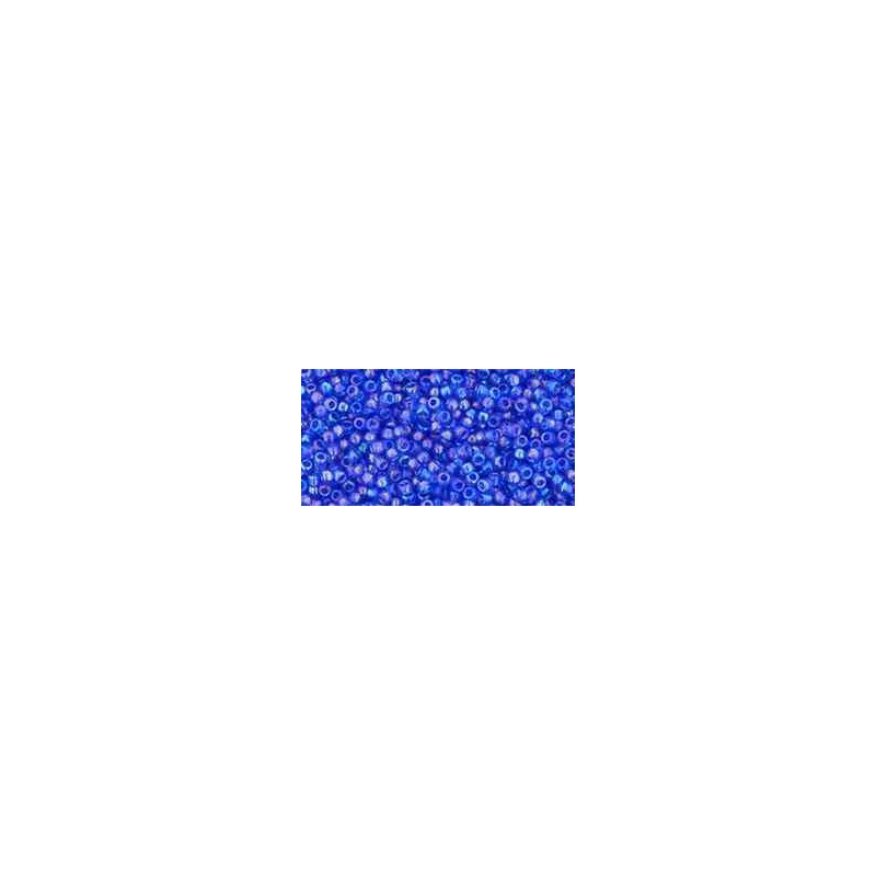TR-15-178 Transparent-Rainbow Sapphire TOHO Seed Beads