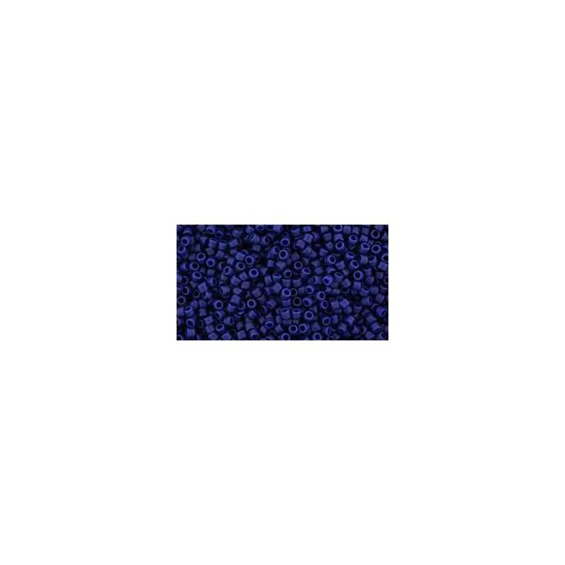 TR-15-2607F Semi Glazed - Navy Blue TOHO Seemnehelmed