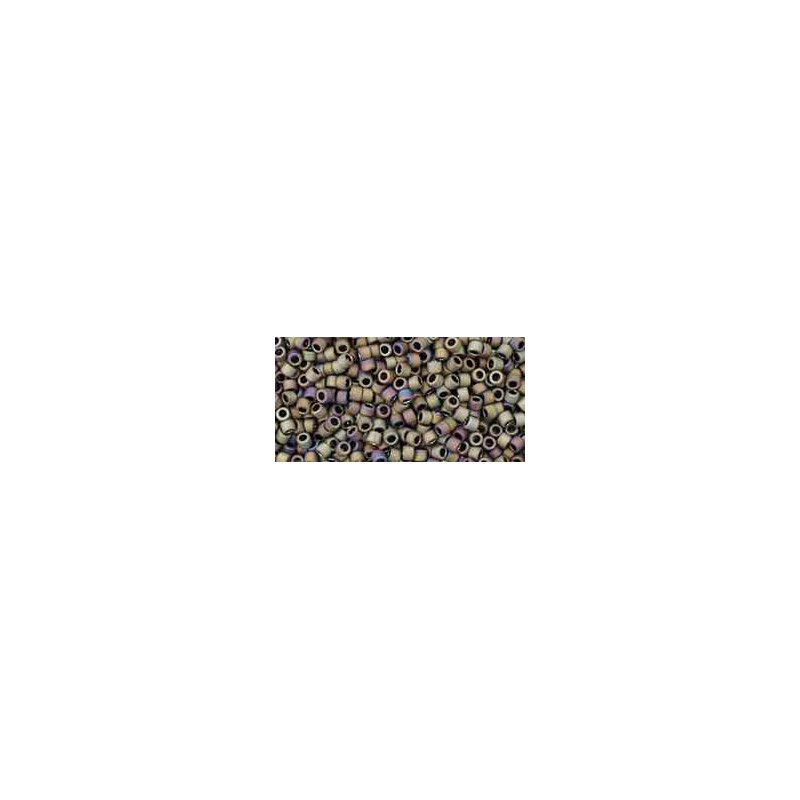TT-01-614 Matte-Color Iris - Brown TOHO Treasures Seed Beads