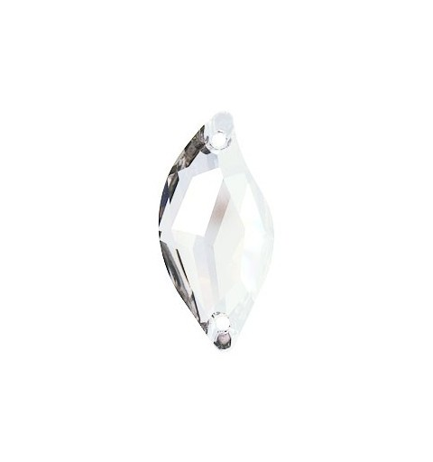 20x9MM Crystal F (001) 3254 Diamond Leaf SWAROVSKI ELEMENTS