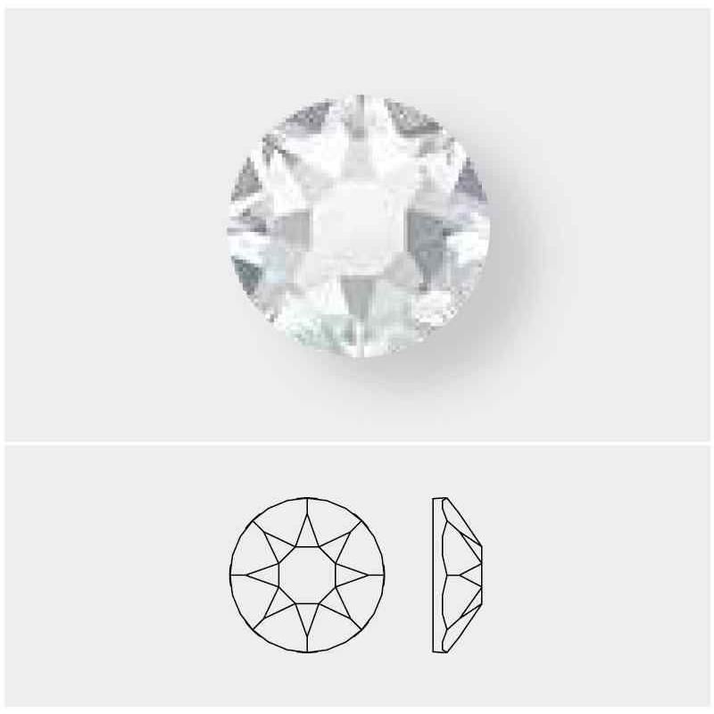 2078 SS16 Crystal Shimmer A HF (001 SHIM) XIRIUS SWAROVSKI