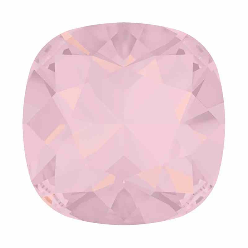 10mm 4470 Rose Water Opal F (395) Cushion Square Fancy Stone Swarovski
