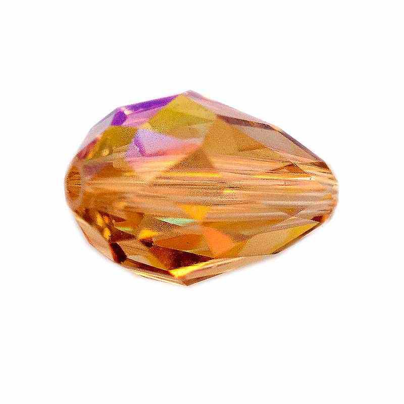 9x6MM Light Colorado Topaz AB (246 AB) 5500 Teardrop Bead SWAROVSKI