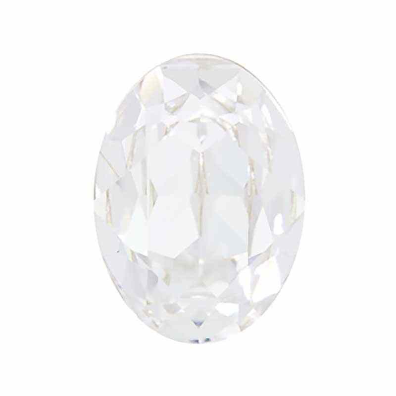 18x13mm Crystal F (001) Oval Fancy Stone 4120 Swarovski