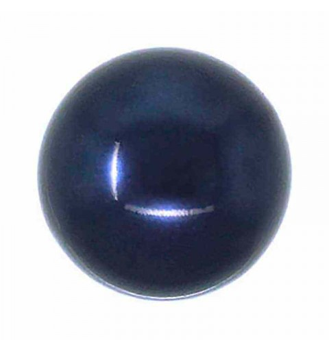 12MM Crystal Night Blue Round Half Drilled Pearl (001 818) 5818 SWAROVSKI
