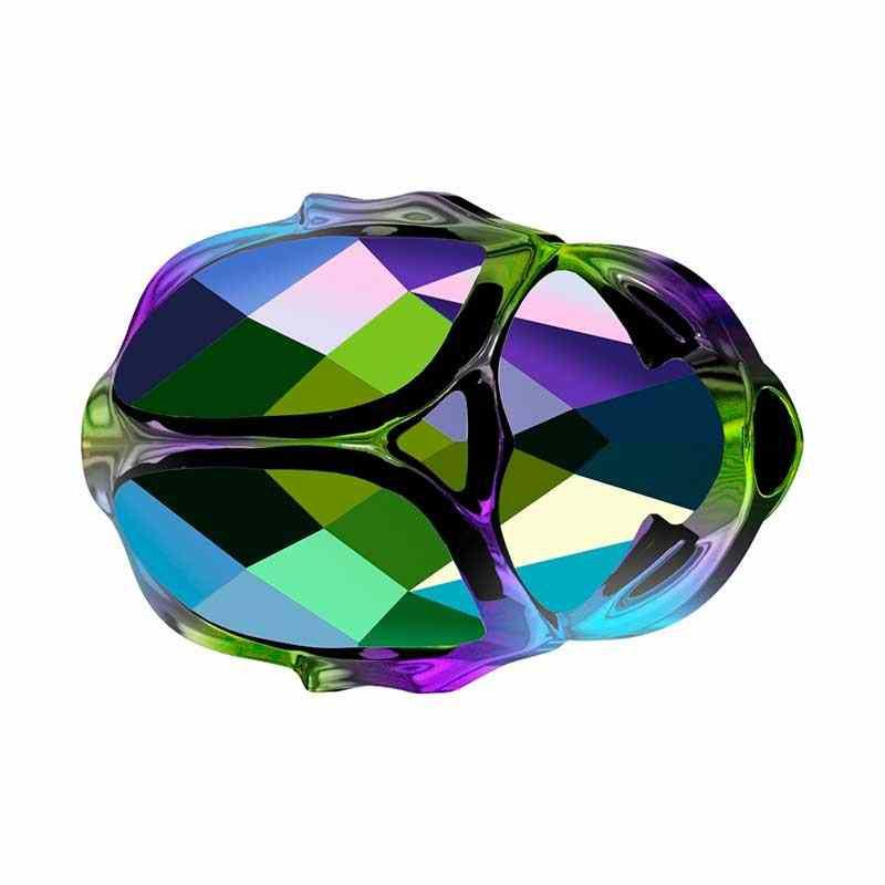 12MM Crystal Scarabaeus Green 2x (001 SCGR2) 5728 Scarab Бусины SWAROVSKI ELEMENTS