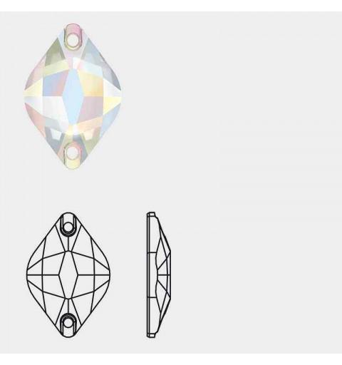 14X9MM Crystal F (001) 3211 Lemon SWAROVSKI