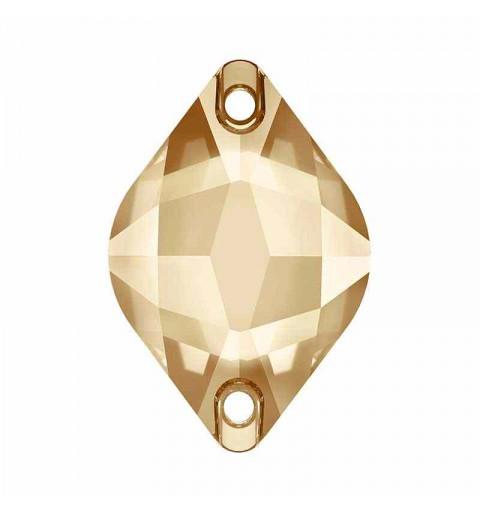 14X9MM Crystal Golden Shadow F (001 GSHA) 3211 Lemon SWAROVSKI