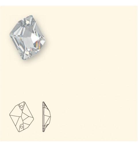 20x16MM Crystal AB F (001 AB) 3265 Cosmic SWAROVSKI ELEMENTS