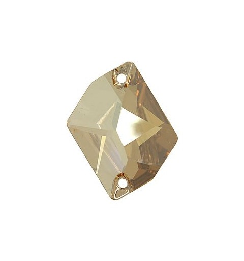 20x16MM Crystal Golden Shadow F (001 GSHA) 3265 Cosmic SWAROVSKI ELEMENTS