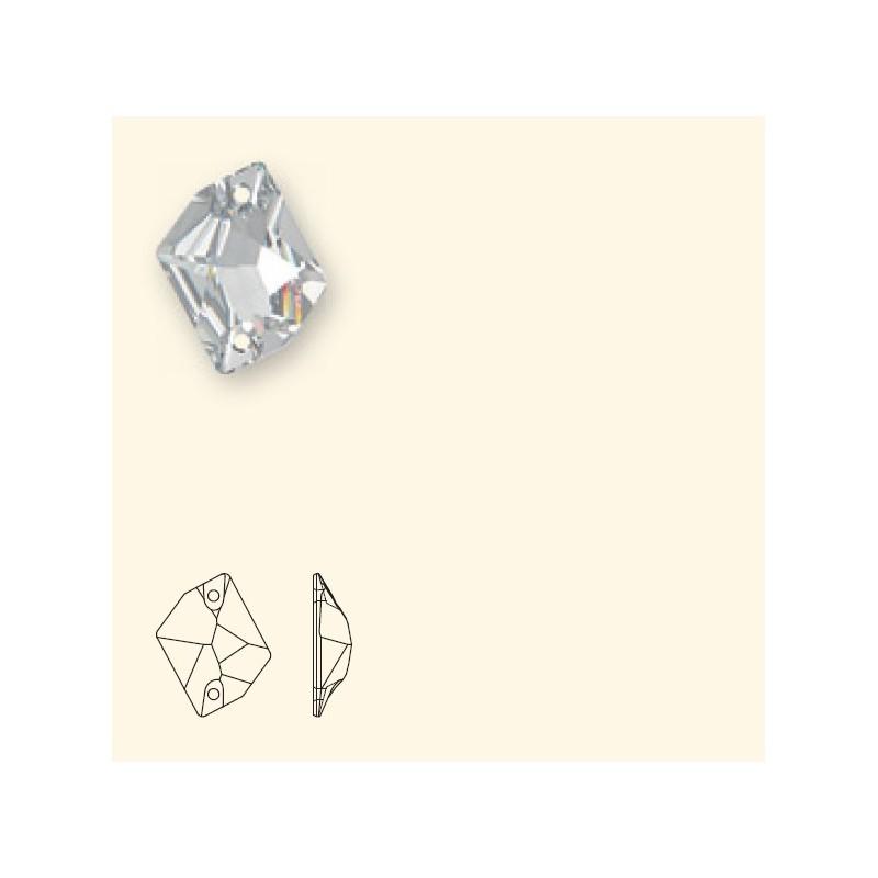 26x21MM Crystal Golden Shadow F (001 GSHA) 3265 Cosmic SWAROVSKI ELEMENTS