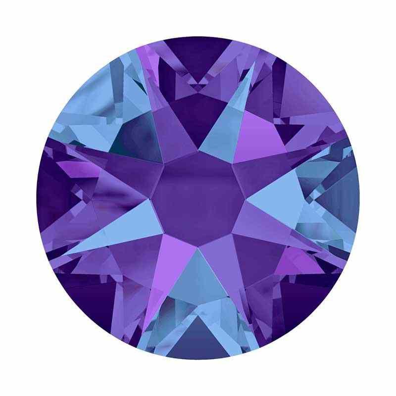 2058 SS12 Crystal Heliotrope F (001 HELIO) SWAROVSKI ELEMENTS