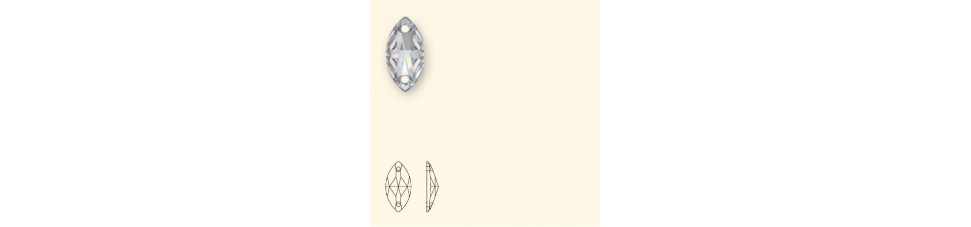 Navette 3223 Пришивные Кристаллы