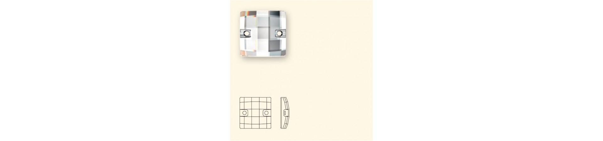 3293 Chessboard (шахматная доска) Пришивные Кристаллы