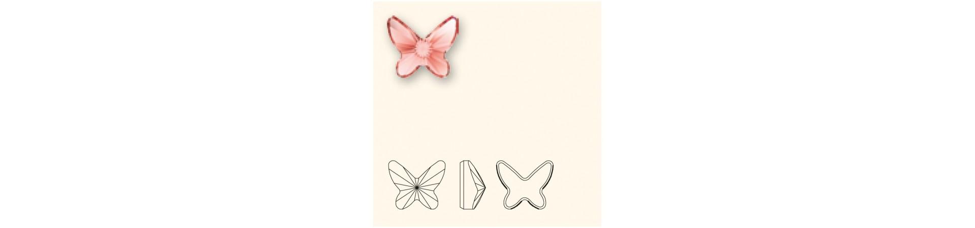 2854 Butterfly Flat Back